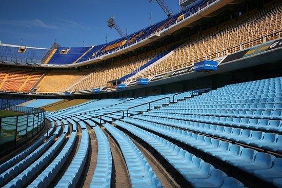 Eintrittskarte zum Stadion von Boca...