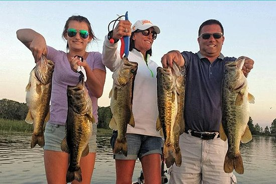 Lake Trafford Fishing Trips near Naples Florida