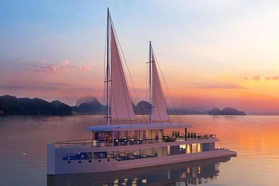 Halong Bay um dia de cruzeiro com Jade...