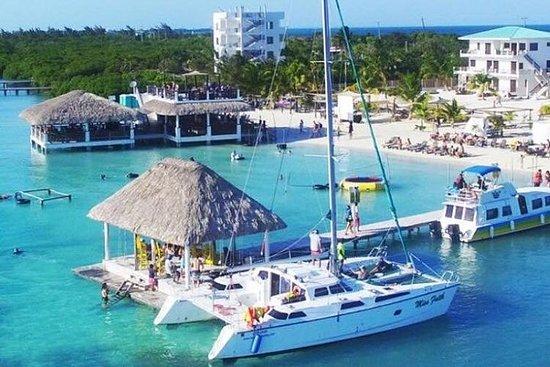Journée de navigation vers Caye...
