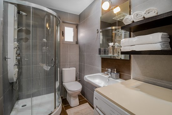 Bathroom from our Stone Apartments