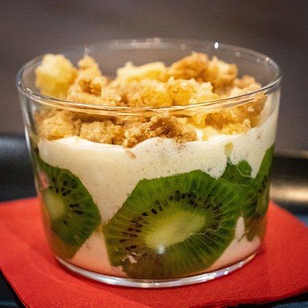 Dessert à base de kiwi