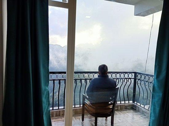 Shimla, India: Best view from the town