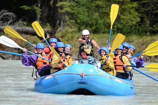 Kicking Horse River Rafting Mild Family Adventure