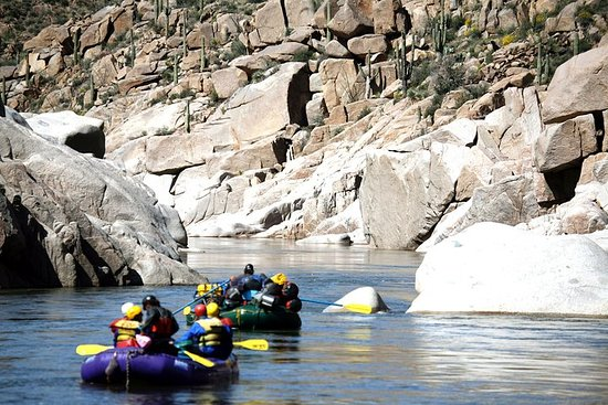 Wilderness Salt River Raft Trip