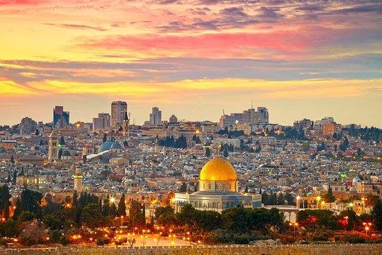 8-natt-Israelstur fra Tel Aviv: Jerusalem, Dødehavet, Betlehem...