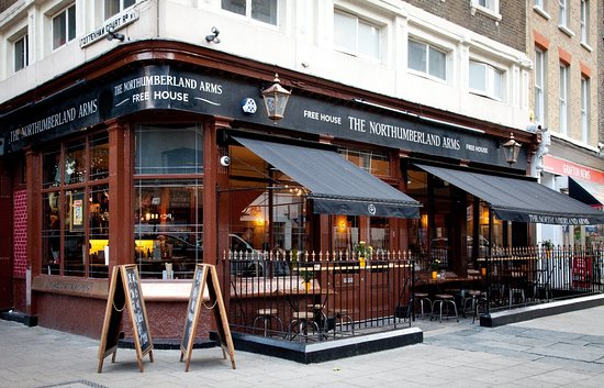 The Northumberland Arms exterior. Come and join us for a pint! Open until 1am every day!