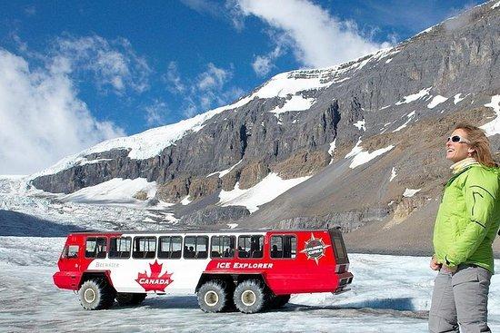 Excursão pela neve no Glacier...