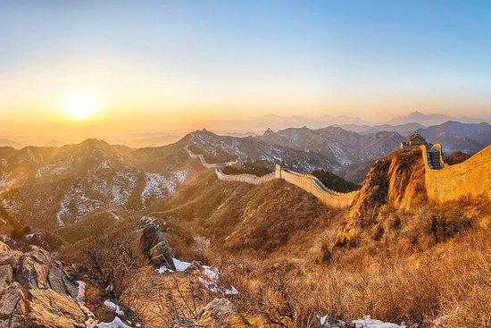 Sunset Pivate Tour at Jinshanling Great...