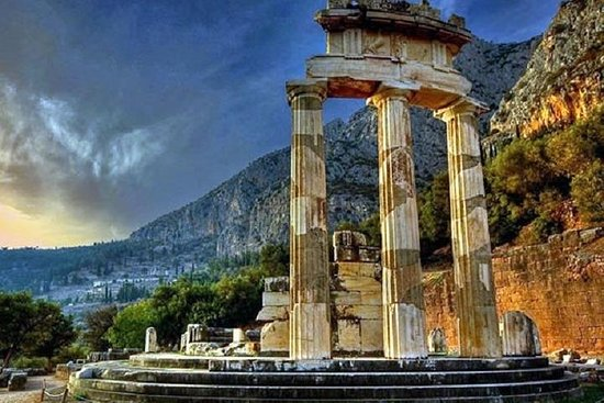 Delphi and Hosios Loukas Monastery Full...