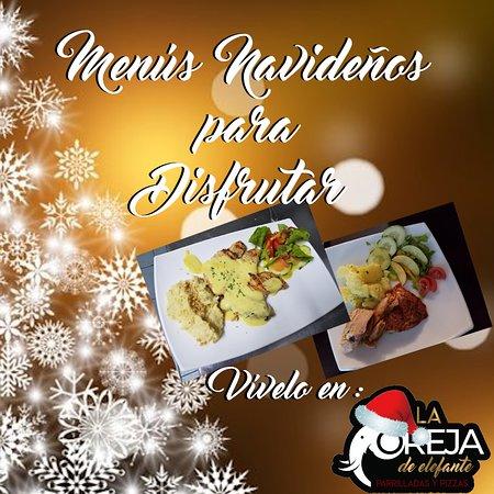 Visita la página web para saber más sobre los menús navideños.
