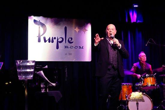 Purple Room Supper Club: Michael Holmes - INCREDIBLE Singer!
