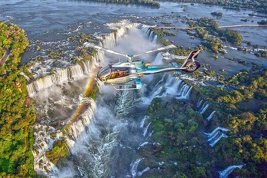 Chutes d'Iguazu: vol panoramique en...
