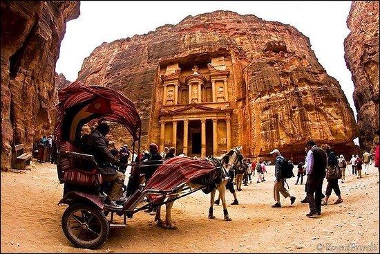 Petra Day Tour D'Aqaba
