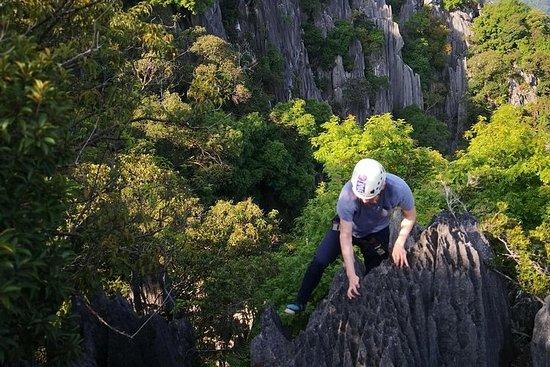 Climb and Abseiling Hidden Pinnacles...