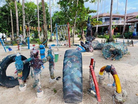 Lio Beach recycled artwork