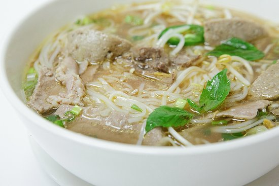 Delicious Cambodian style pho noodle soup in Lawton Oklahoma