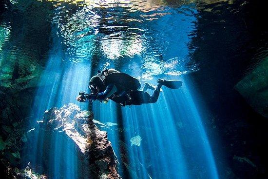 Mergulho ao Cenote (Caverna) em...