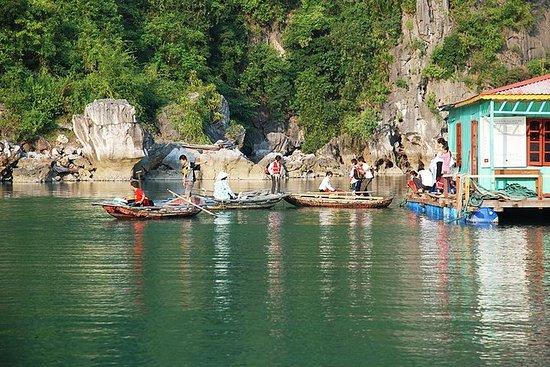 Halong Bay Cruise com passeio de...