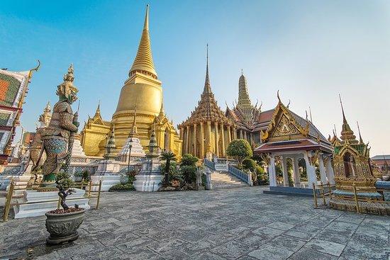 Grand Palace, Emerald Buddha og Wat Po...