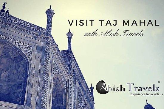 Visite du même jour du Taj Mahal au...