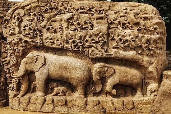 Private Tagestour durch Mahabalipuram