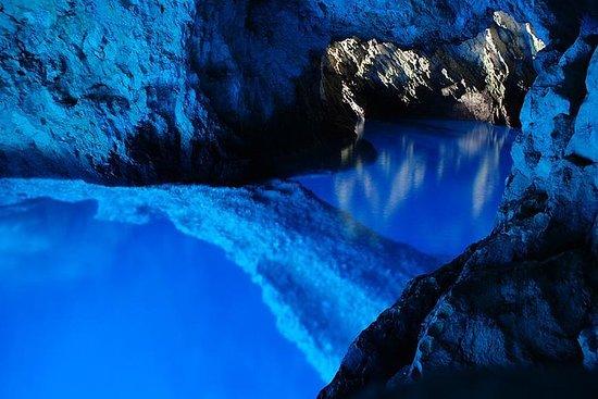 Excursão à Caverna Azul e à Hvar...
