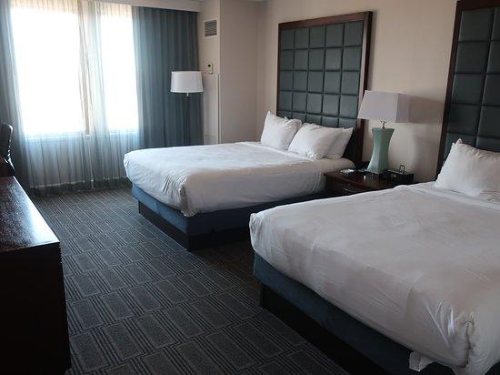 Comfortable room.