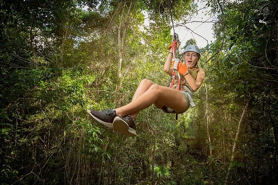 Фотография Ziplines, Cenote, and ATV Tour at Selvatica Park From Cancun