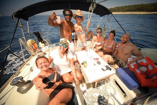 8-dagers seilbåtopplevelse: Supetar, Hvar med profesjonell skipper