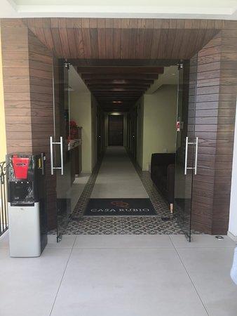Atotonilco El Alto, Мексика: Ingreso al hotel.