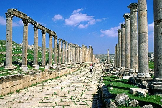 Privat Jerash och Amman City Tour