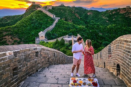 Great Wall Sunset Picnic Tour At the...