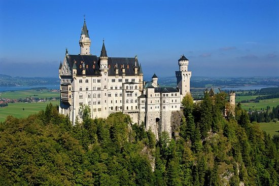Neuschwanstein and Linderhof Castle...