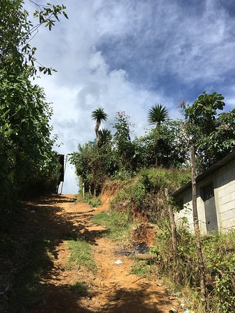 Plenty of hiking paths in Chajul.