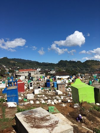 Chajul, Guatemala: The weirdest cemetery I ever seen. Most tombs don't have names and there are small concrete blocks on top of them to burn copal - the resin of pine trees.