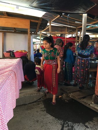Chajul, Guatemala: Women are still dressed in their traditional guipiles and cortes, mainly made by themselves.