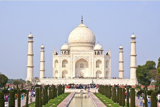 Private Tour: Taj Mahal Day Trip from...