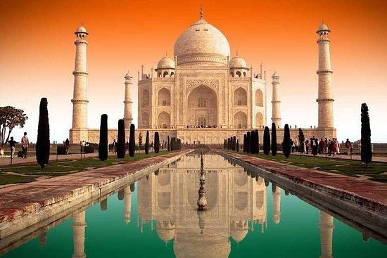 Visite du Taj Mahal en train Gatimaan...