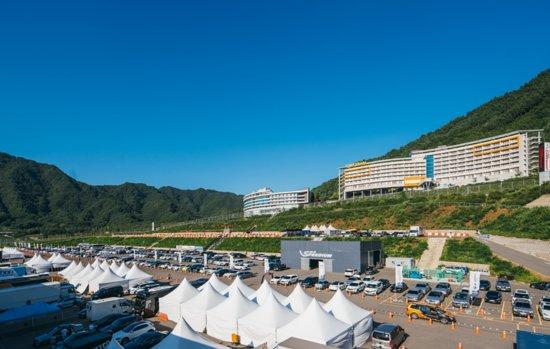 Gangwon-do, เกาหลีใต้: 지난 여름,,,인제스피디움에서 진행한 서킷 행사