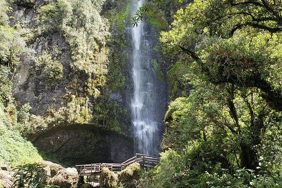 ジロンの滝とブサ湖