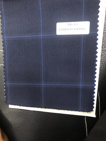 Wool fabric for suits