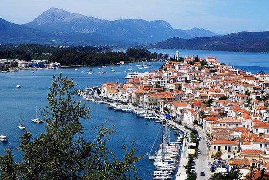 从雅典出发的伊兹拉岛、波罗斯岛和埃伊纳岛乘船一日游,可选择 VIP 升级