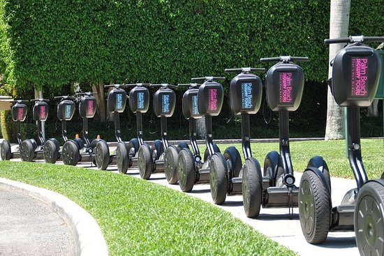 Tour in Segway di 2 ore: Downtown West Palm Waterfront e Palm Beach