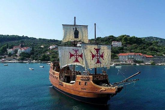 Foto de Crucero por las islas Elafiti con actuación en directo en un galeón desde Dubrovnik
