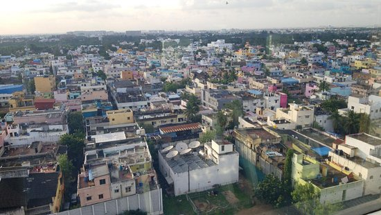 View of Chennai from the fifth floor.