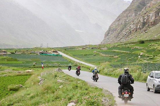 Expédition de moto à Manali Ladakh