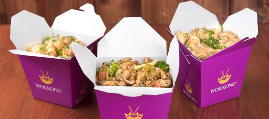 """Riyadh, Arabia Saudita: The wokkong """"take-away"""" posted in their website.. which looks good and attractive.. but the outcome after ordering it.. very very very much disappointed.. this is a complaint purely on the food, outcome of the food and taste of the food.. really deplorable after food delivery to us with the price that we paid.."""