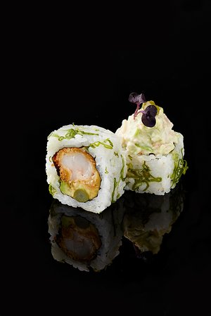 Double Shrimp Wasabi Roll