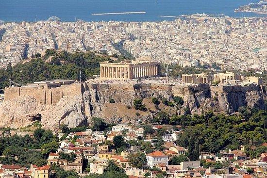 Tour en moto des temples athéniens...